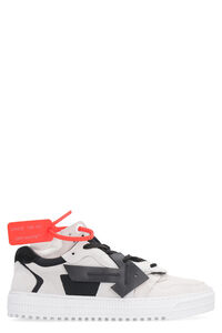 3.0 leather and techno-fabric sneakers, Low Top sneakers Off-White woman