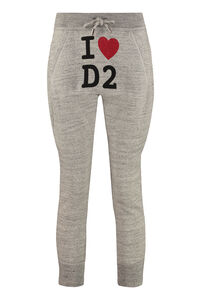 Cotton track-pants, Track Pants Dsquared2 woman