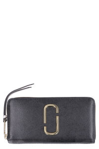 Snapshot continental leather wallet, Wallets Marc Jacobs woman