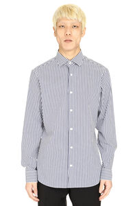 Stretch poplin shirt, Striped Shirts Z Zegna man