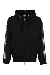 Full zip hoodie, Zip through Burberry man