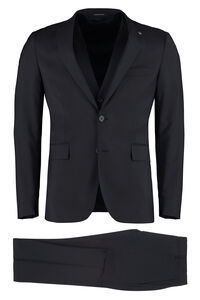 Three-piece virgin wool suit, Suits Tagliatore man