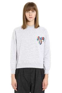 Cotton crew-neck sweatshirt, Sweatshirts Maison Labiche woman