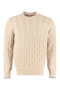 Cashmere sweater, Crew necks sweaters Brunello Cucinelli man
