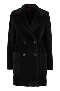 Bormio fur effect coat, Double Breasted Max Mara Studio woman