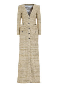 Abito in tweed multicolor, Vestiti maxi Alessandra Rich woman