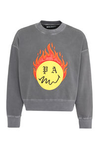 Cotton crew-neck sweatshirt, Sweatshirts Palm Angels man