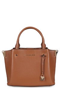 Arielle small pebbled leather handbag, Top handle MICHAEL MICHAEL KORS woman