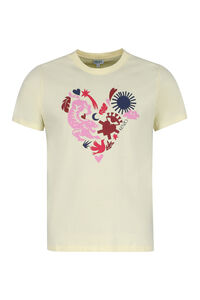 Lucky Star cotton t-shirt, Short sleeve t-shirts Kenzo man