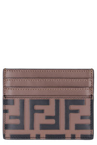 Leather card holder, Wallets Fendi woman