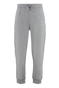 Logo detail cotton track-pants - BOSS x Russell Athletic, Track Pants BOSS man