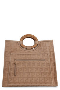 Runaway smooth leather tote bag, Top handle Fendi woman