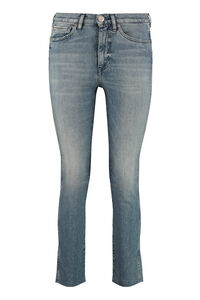 High-rise straight ankle jeans, Straight Leg Jeans 3x1 woman