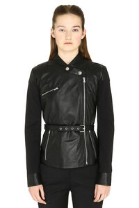 Trofie leather jacket, Leather Jackets Pinko woman