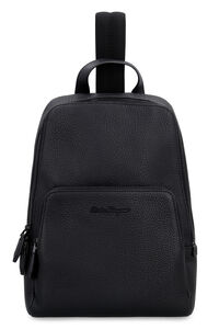 Leather backpack, Backpack Salvatore Ferragamo man