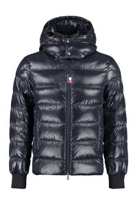 Cuvellier hooded down jacket, Down jackets Moncler man
