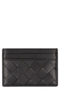 Intrecciato card holder, Wallets Bottega Veneta man