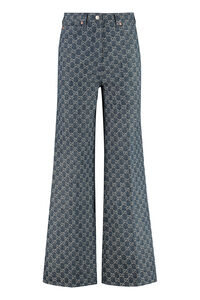 5-pocket bootcut jeans, Flared Jeans Gucci woman
