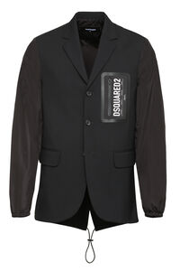 Giacca monopetto in misto lana, Monopetto Dsquared2 man