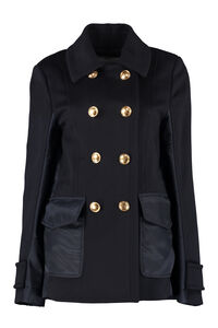 Double-breasted wool and cashmere coat, Double Breasted VALENTINO woman