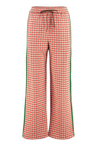 Side panel wide leg trousers, Track Pants Gucci woman