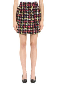 Tweed mini-skirt, Mini skirts Versace woman