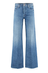 The Tomcat Roller Fray wide jeans, Wide Leg Jeans Mother woman