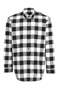 Checked cotton shirt, Checked Shirts Balenciaga man