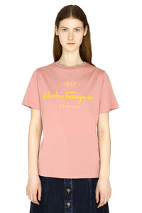 Stretch cotton T-shirt, T-shirts Salvatore Ferragamo woman