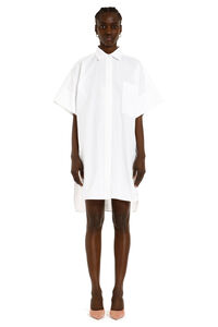 Meana oversize cotton shirtdress, Mini dresses Max Mara woman