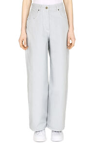 High-rise straight ankle jeans, Straight Leg Jeans Jacquemus woman