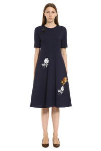Embroidered midi dress, Midi dresses Tory Burch woman