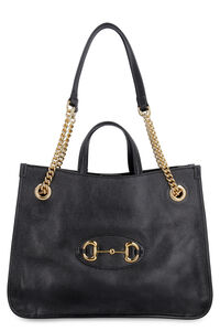 Gucci 1955 Horsebit leather tote, Tote bags Gucci woman