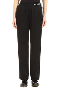 Contrasting side stripes track-pants, Track Pants Moncler woman