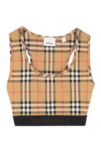 Technical fabric crop top, Crop tops Burberry woman