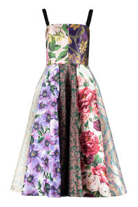 Floral patchwork dress, Printed dresses Dolce & Gabbana woman