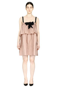 Dress with bow on the collar, Mini dresses N°21 woman
