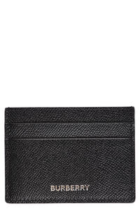 Leather card holder, Wallets Burberry man