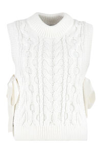 Francine knitted top, Crew neck sweaters Cecilie Bahnsen woman