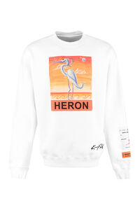 Cotton crew-neck sweatshirt, Sweatshirts Heron Preston man