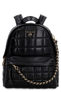Slater leather backpack with stitchings, Backpack MICHAEL MICHAEL KORS woman