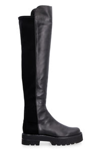 5050 Lift leather over-the-knee boots, Over-the-knee Boots Stuart Weitzman woman