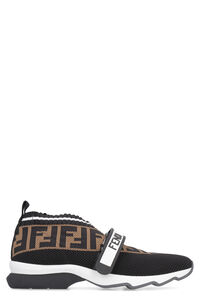 Rockoko knitted slip-on sneakers, Slip-on Fendi woman