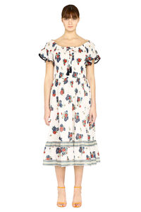 Meadow Folly patterned cotton dress, Printed dresses Tory Burch woman