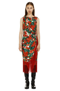 Tight dress with draped panel, Printed dresses Dolce & Gabbana woman