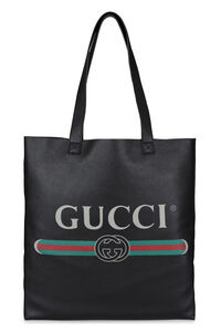 Leather tote, Totes Gucci man
