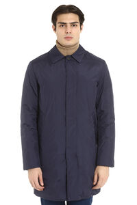 Padded jacket with button closure, Raincoats And Windbreaker add man