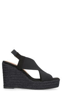 Federica wedges with crossed bands, Wedges Castaner woman