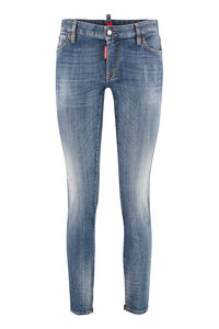 Twiggy 5-pocket jeans, Cropped Jeans Dsquared2 woman
