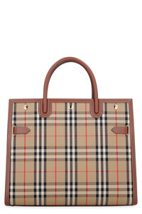 Tote bag Title media, Tote Burberry woman
